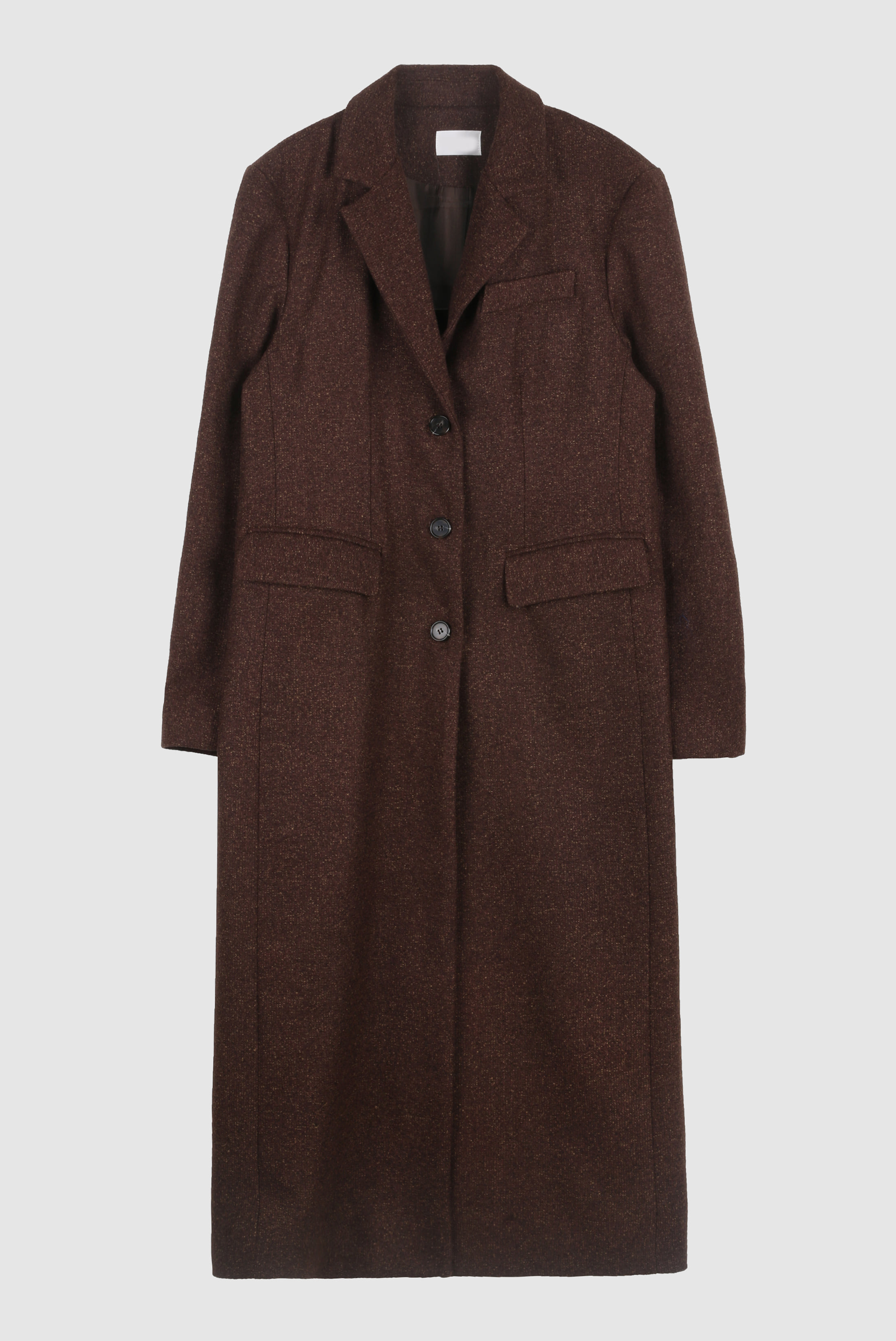 (W) Classic_Tweed Long_Coat