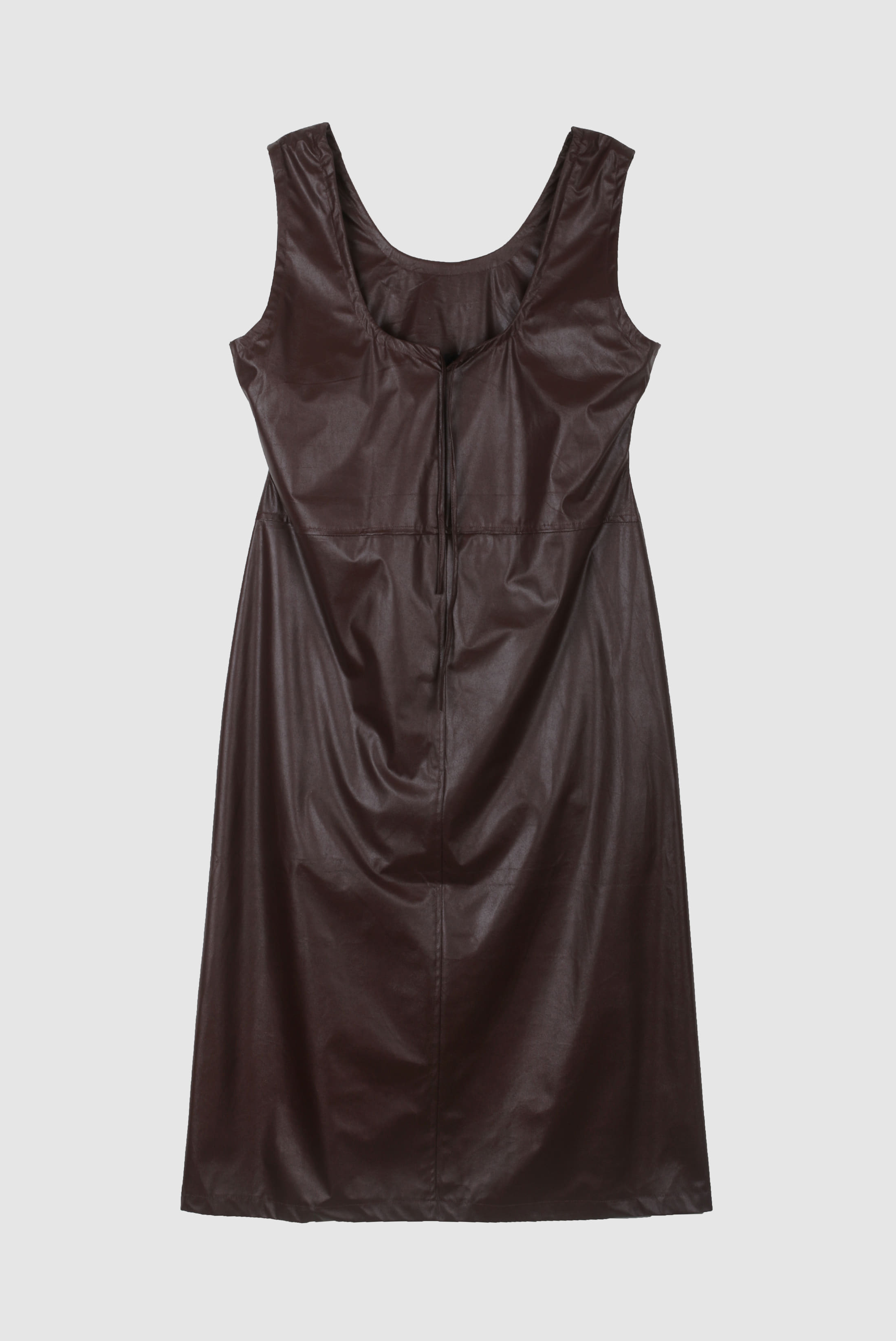 Fake_Leather String Onepiece