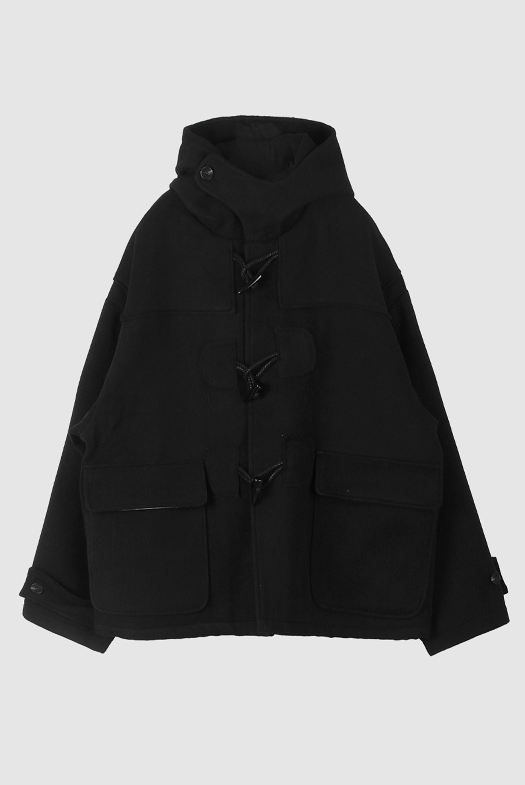 Raw Heavy Duffel_Coat