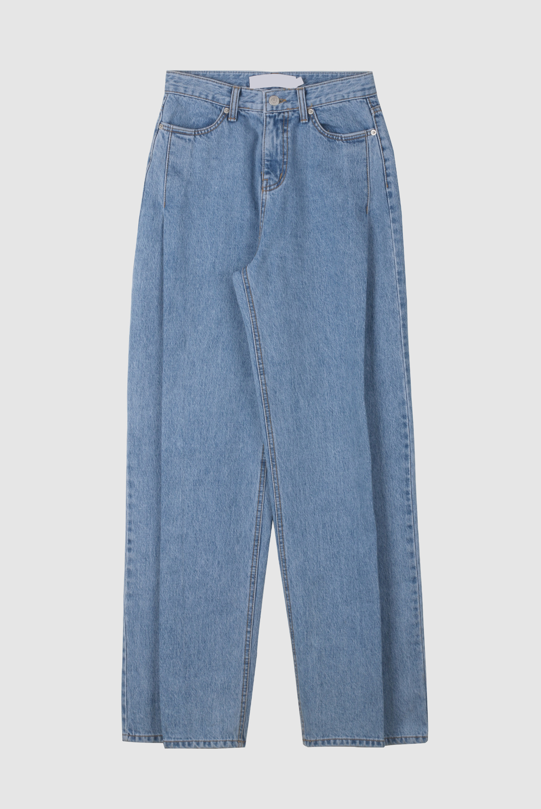 Spring Pin_Tuck Denim_Pant