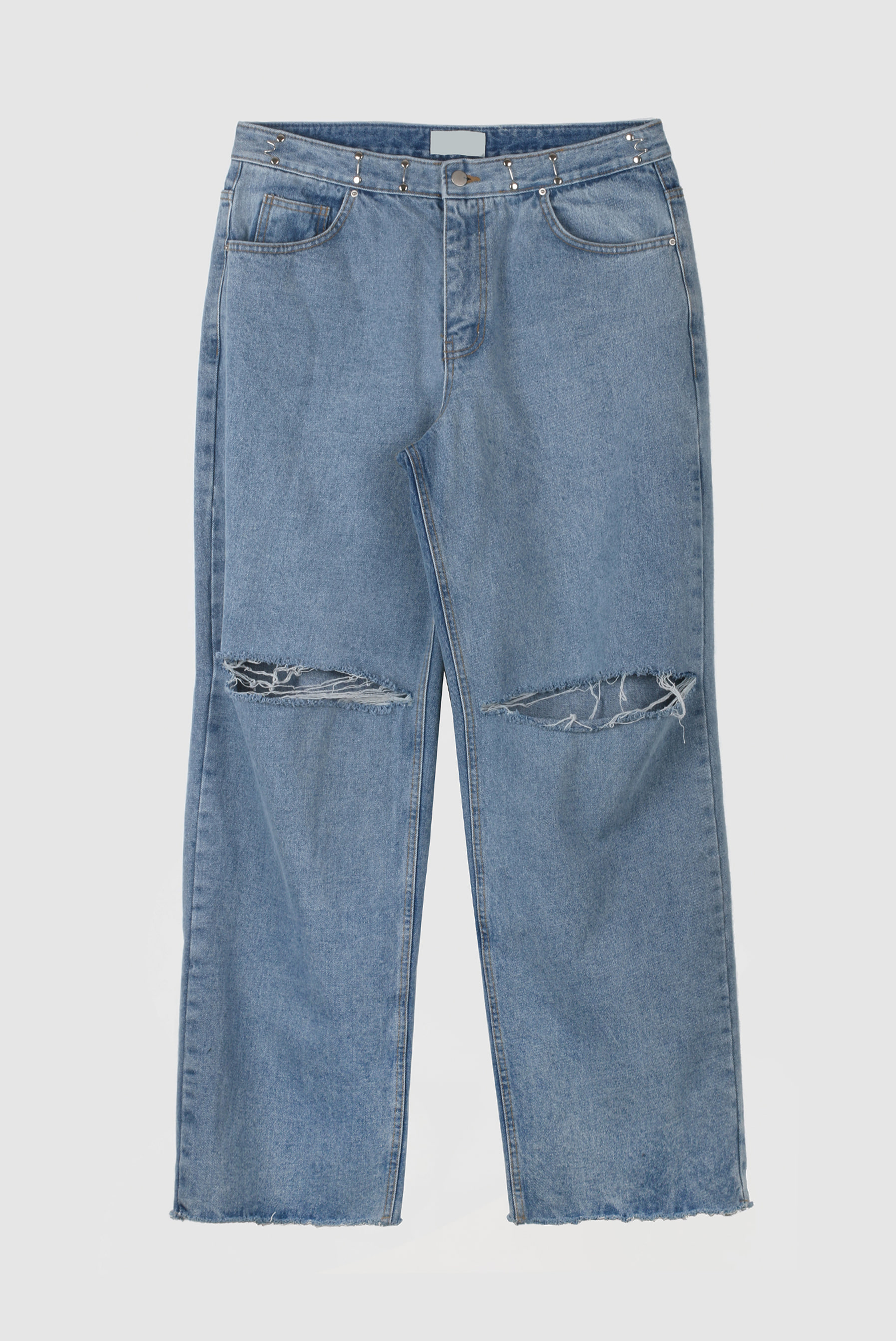 Hook_Belt Wide Denim_Pant