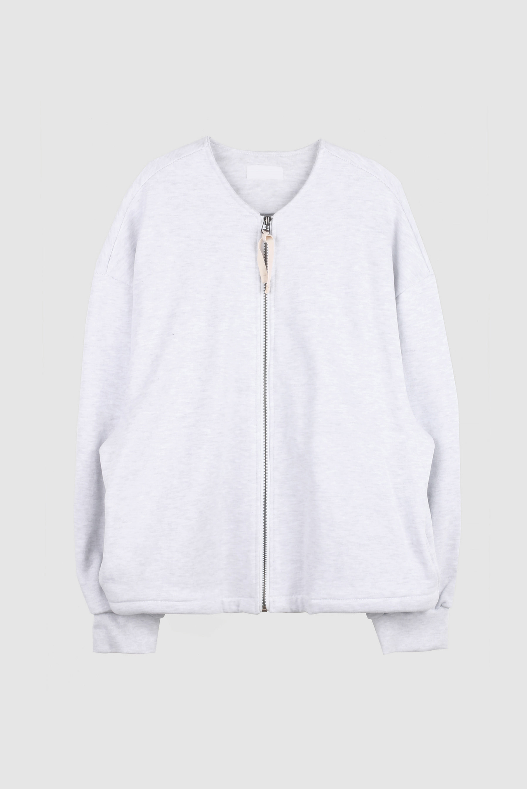 Heavy_Cotton Round Zip-up